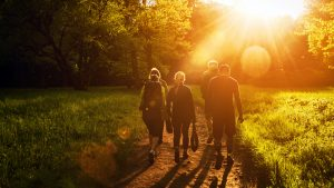 Breathe Outdoors Community Page, Wellbeing Walks Information